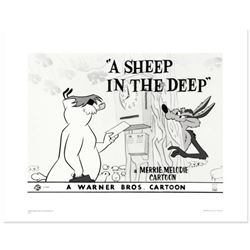 """""""A Sheep In the Deep"""" Limited Edition Giclee from Warner Bros., Numbered with Hologram Seal and Cert"""