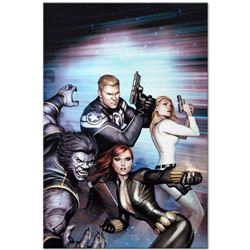 """Marvel Comics """"Secret Avengers #13"""" Numbered Limited Edition Giclee on Canvas by Adi Granov with COA"""