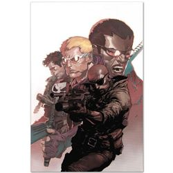 """Marvel Comics """"Ultimate Avengers vs. New Ultimates #4"""" Numbered Limited Edition Giclee on Canvas by"""