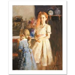 """Pino (1939-2010) """"Best Friends"""" Limited Edition Giclee. Numbered and Hand Signed; Certificate of Aut"""
