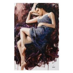 """Vidan, """"Before the Sunrise"""" Limited Edition on Canvas, Numbered and Hand Signed with Certificate."""