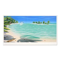 """Dan Mackin, """"Tropical Breeze"""" Limited Edition Lithograph, Numbered and Hand Signed with Letter of Au"""