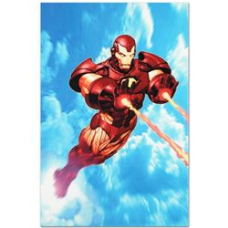 """Marvel Comics """"Iron Man: Iron Protocols #1"""" Numbered Limited Edition Giclee on Canvas by Ariel Olive"""