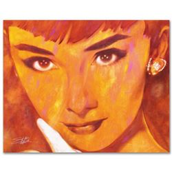 """""""Audrey Too"""" Limited Edition Giclee on Canvas by Stephen Fishwick, Numbered and Signed with COA. Thi"""