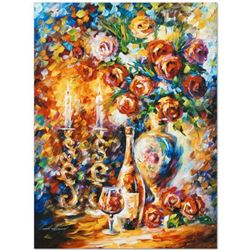 """Leonid Afremov """"Shabbat"""" Limited Edition Giclee on Canvas, Numbered and Signed; Certificate of Authe"""