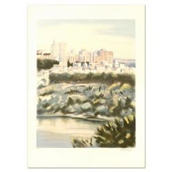 """Victor Zarou, """"Chateu Rio Renne"""" Limited Edition Lithograph, Numbered and Hand Signed."""
