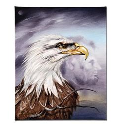 """""""Regal Eagle"""" Limited Edition Giclee on Canvas by Martin Katon, Numbered and Hand Signed with COA. T"""