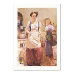 """Pino (1931-2010), """"The Country Chef"""" Limited Edition on Canvas, Numbered and Hand Signed with Certif"""
