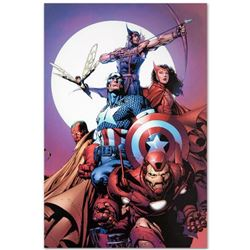 "Marvel Comics ""Avengers #80"" Numbered Limited Edition Giclee on Canvas by David Finch with COA."
