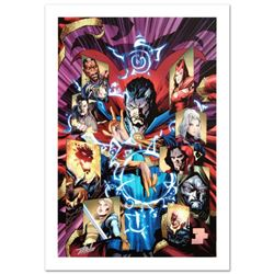 """""""New Avengers #51"""" Limited Edition Giclee on Canvas by Billy Tan and Marvel Comics. Numbered and Han"""