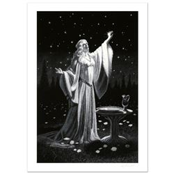 """""""Ring Of Galadriel"""" Limited Edition Giclee by Greg Hildebrandt. Numbered and Hand Signed by the Arti"""