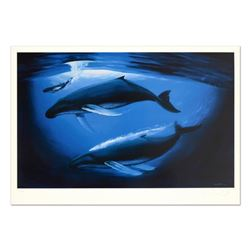 """""""A Sea of Life"""" Limited Edition Lithograph by Renowned Artist Wyland, Numbered and Hand Signed with"""