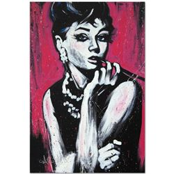 """""""Audrey Hepburn (Fabulous)"""" Limited Edition Giclee on Canvas (30 x 40"""") by David Garibaldi, Numbered"""