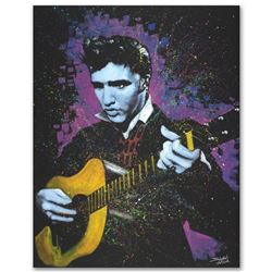 """""""A Young King"""" Limited Edition Giclee on Canvas by Stephen Fishwick, Numbered and Signed with COA. T"""
