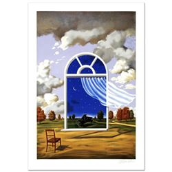"""""""Nocture in E Flat Major"""" Limited Edition Lithograph by Rafal Olbinski, Numbered and Hand Signed wit"""