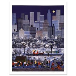"""""""New York, New York"""" Limited Edition Lithograph by Jane Wooster Scott, Numbered and Hand Signed with"""