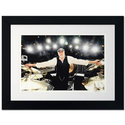 """""""Mick Fleetwood"""" Limited Edition Giclee by Rob Shanahan, Numbered and Hand Signed with COA. This pie"""