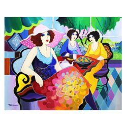 "Patricia Govezensky- Original Acrylic On Canvas ""Harmony"""