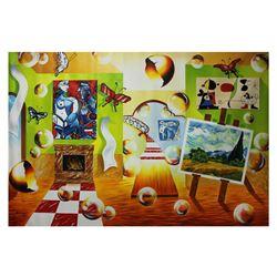 "Alexander Astahov- Original Oil on Canvas ""Elegant Design"""