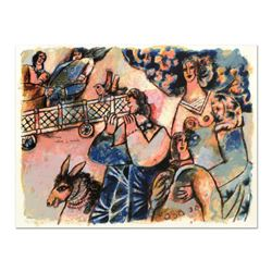 """Theo Tobiasse (1927-2012), """"Les Premiers Matins Du Monde"""" Limited Edition Lithograph, Numbered and H"""