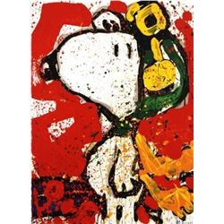 """Tom Everhart- Hand Pulled Original Lithograph """"To Remember"""""""
