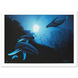 """""""Whale Vision"""" Limited Edition Giclee on Canvas (42"""" x 30"""") by Renowned Artist Wyland, Numbered and"""
