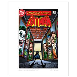 """Batman """"Rogues Gallery"""" Numbered Limited Edition Giclee from DC Comics with Certificate of Authentic"""