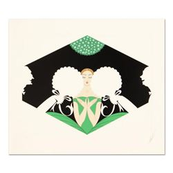 """Erte (1892-1990), """"The Suitors"""" Limited Edition Serigraph, Numbered and Hand Signed with Certificate"""