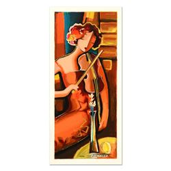"Michael Kerzner, ""The Violinist"" Limited Edition Serigraph, Numbered and Hand Signed with Certificat"