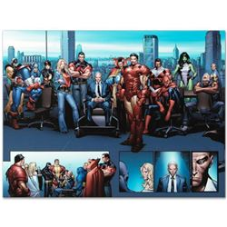 """Marvel Comics """"House of M MGC #1"""" Numbered Limited Edition Giclee on Canvas by Oliver Coipel with CO"""