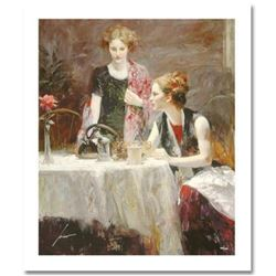 """Pino (1939-2010) """"After Dinner"""" Limited Edition Giclee. Numbered and Hand Signed; Certificate of Aut"""