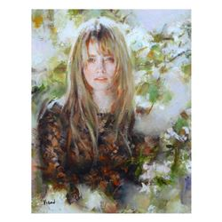 """Vidan, """"Christine"""" Limited Edition on Canvas, Numbered and Hand Signed with Certificate."""