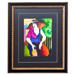 "Patricia Govezensky- Original Watercolor ""Chloe"""