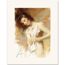 """Pino (1931-2010), """"White Camisole"""" Limited Edition on Canvas, Numbered and Hand Signed with Certific"""