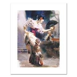"""Pino (1931-2010), """"The Dancer"""" Limited Edition on Canvas, Numbered and Hand Signed with Certificate"""