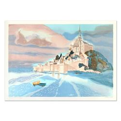 """Georges Lambert (1919-1998), """"St Michele II"""" Limited Edition Lithograph, Numbered and Hand Signed."""