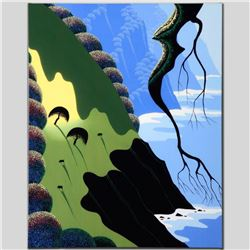 """""""Coast and Cows"""" Limited Edition Giclee on Canvas by Larissa Holt, Numbered and Signed with COA. Thi"""