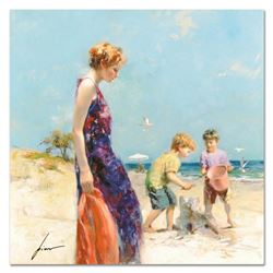 """Pino (1939-2010), """"Good Ole Days"""" Artist Embellished Limited Edition on Canvas, AP Numbered and Hand"""