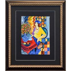 "Patricia Govezensky- Original Watercolor ""Lauren in France"""
