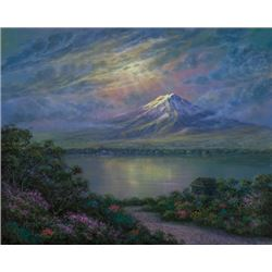 Maurice Meyer (Japan) Twilight at Mt. Fuji