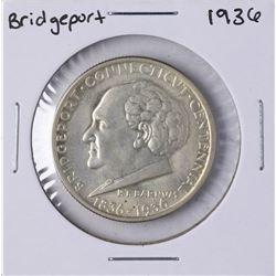 1936 Bridgeport Connecticut Centennial Commemorative Half Dollar Coin