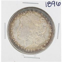 1896 $1 Morgan Silver Dollar Coin Great Toning