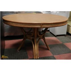"ROUND TABLE APPROX 48"" DIAMETER"