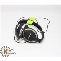 BOSE FOLDING OVER EAR HEADPHONES AUTHENTIC