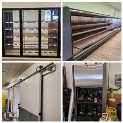 MASSIVE COOLING SYSTEM! 2 DUAL-CHAMBER WALK-IN