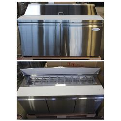 NEW REFRIGERATED STAINLESS STEEL PREPSTATIONS!