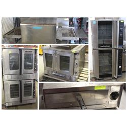 VARIOUS COMMERCIAL-GRADE & SPECIALTY OVENS