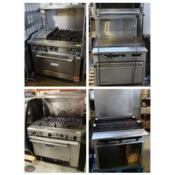 VARIOUS COMMERCIAL COOKTOPS!