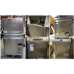 ASSORTMENT OF COMMERCIAL DISHWASHERS