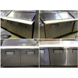 USED REFRIGERATED PREP-COOLERS!